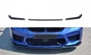 Lame de pare choc avant / Splitter V.2 noir brillant BMW 5 F90 M5