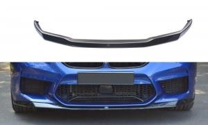 Lame de pare choc avant / Splitter V.1 noir brillant BMW 5 F90 M5