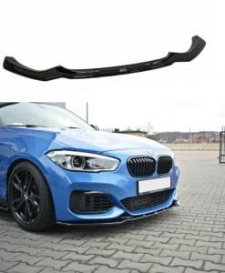Lame de pare choc avant V1 BMW 1 F20 F21 LCI Pack M
