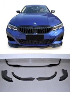 Lame de pare choc avant M Performance pour BMW série 3 G20 G21 pack M