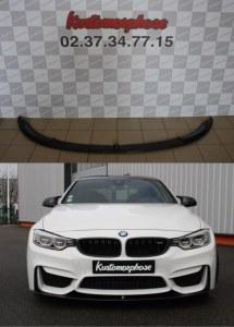 Lame pare choc avant carbone M Performance BMW M4 F82 F83 M3 F80