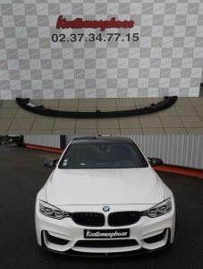 Lame pare choc avant en ABS noir M Performance BMW M4 F82 F83 M3 F80