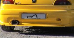 """Lame pour bouclier arrière 306 cabriolet """"Rebel""""."""
