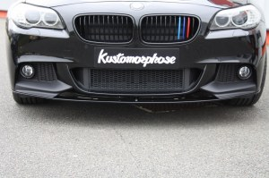 Lame splitter bmw serie 5 F10 F11 Pack M Performance