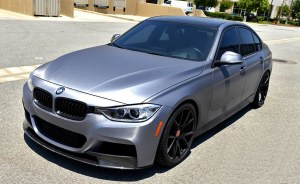 Lame splitterCarbone bmw serie 3 F30 F31 Pack M Performance