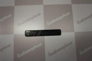 logo Monogramme de calandre GT Turbo pour RENAULT 5 gt turbo phase 1