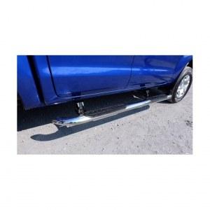 Marche pieds Latéraux Électriques En Inox Pour Ford Ranger Double Cabine