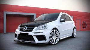 Kit Large Black series Mercedes ML W164 2008-2011
