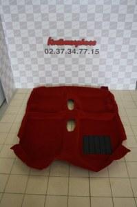 moquette neuve GTI rouge + insonorisants