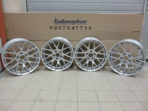 4 Jantes BMW serie 1 look 1M 7,5x18 et 8,5x18