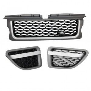 PACK CALANDRE LOOK AUTOBIOGRAPHY POUR RANGE ROVER SPORTP Platinum Black Edition