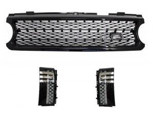 Pack Calandre Noir pour Range Rover Vogue look Autobiography Black Edition