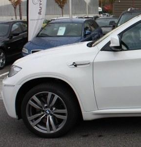 Paire d'ailes avant avec clignotant BMW X6 M E71
