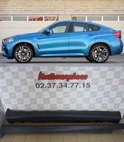 Paire de bas de caisse BMW X6 F16 pack M