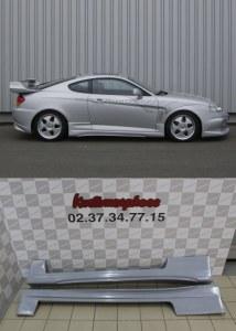 Paire de bas de caisse Veilside Hyundai coupé FX tuscani 2002 a 2006