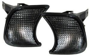 Paire de clignotants pour BMW E34 Fumé