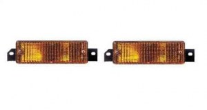 Paire de feux clignotants orange BMW E30 phase 2