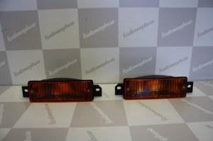 Paire de feux clignotants orange BMW E30 phase 2