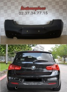 Pare choc arrière BMW serie 1 F20 F21 LCI Pack M