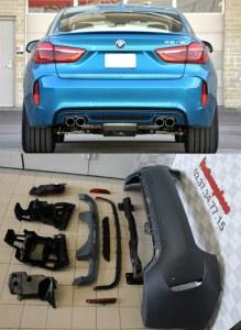 Pare choc arrière BMW X6 F16 M