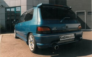 """Pare choc arrière """"JOKER II"""" Esquiss'Auto pour Renault Clio 1"""