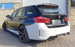 Pare choc arrière look M2 BMW serie 3 F31 touring