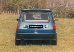 pare choc arrière Renault R5 look trubo 2