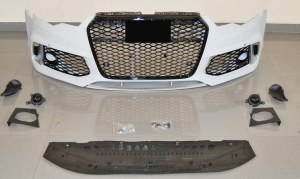 Pare-choc avant pour AUDI A6 C7 2011-2015 LOOK RS6