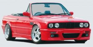 Pare choc avant bmw E30 M3-look en ABS