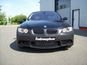 pare choc avant BMW E92 E93 look M3 avec emplacement antibrouillard