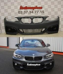 Pare choc avant BMW serie 2 F22 F23 Pack M