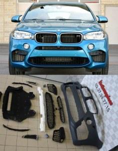 Pare choc avant BMW X6 F16 pack M