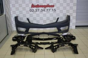 Pare-choc avant complet mercedes w204 C63 AMG 2011-2013
