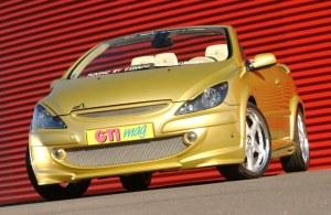 """Pare choc avant """"Nickel"""" Esquiss'Auto pour 307 Phase 1 tous model avec extensions d'ailes"""