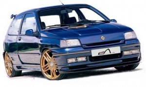 "Pare choc avant ""OSMOSE"" Esquiss'Auto pour Renault Clio 1 16S et Williams"