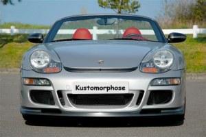 Kit Pare choc avant + capot look 997 GT3 pour Porsche boxster 986 et 996