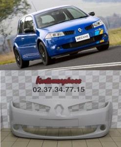 Pare choc avant Renault Megane 2 RS phase 2 2006-2008 Facelift