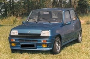 pare choc avant Renault R5 look Trubo 2