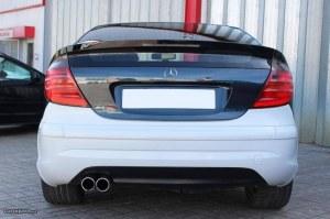 Pare choc arrière type AMG Mercedes classe C C203 Sport coupé
