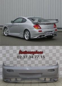 Pare chocs arrière Veilside Hyundai coupé FX tuscani 2002 a 2006