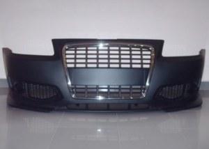 Pare-chocs av Audi A3 8L 96-03 look S3 avec calandre noire/chrome
