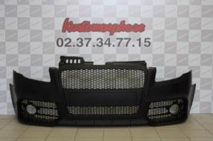 Pare chocs avant Audi A4 RS style Calandre noir