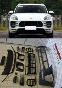 pare chocs avant Porsche Macan turbo