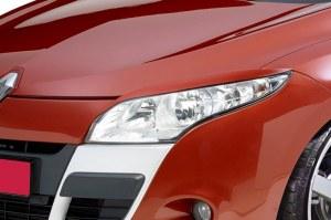 paupière de phare avant Renault Megane 3