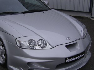 paupière de phare avant Veilside Hyundai coupé FX tuscani 2002 a 2006