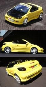 """Kit large Peugeot 206 """"IMPACT R"""" CC Esquiss'auto"""