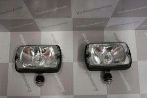 Phares longue portée Blanc 205 GTI