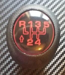 pommeau vitesse 205 be1 marche arrière haut a gauche
