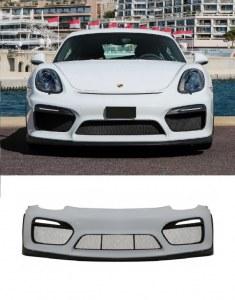 Pare choc avant Porsche Boxster et Cayman 981 look GT4 sans feux