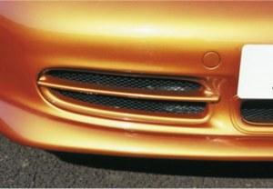 Prises d'air de pare choc avant look GT3 Porsche Boxster 986